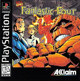 Fantastic-Four-PS1-Great-Condition-Fast-Shipping