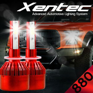 AUTOVIZION LED HID Headlight Conversion kit H4 9003 6000K 2001-2004 Ford Escape
