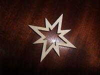 1 Stern, 4 Mm Sperrholz Zum Basteln, Ca. 8 Cm