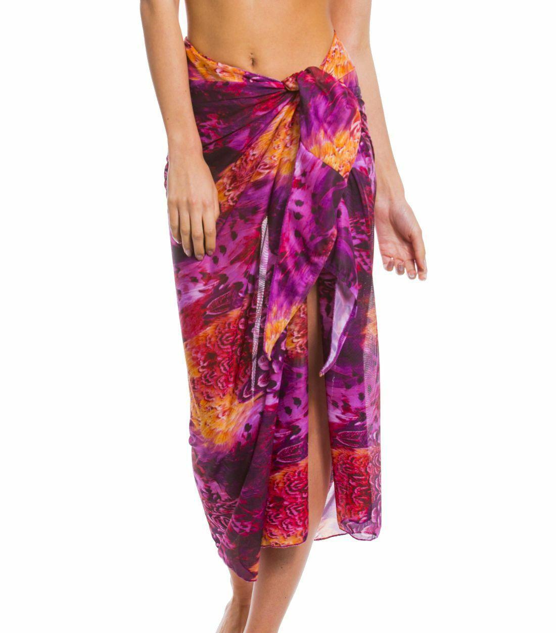 Kiniki Amalfi Purple Tan Through Sonnendurchlässiger Strandsarong Accessoires