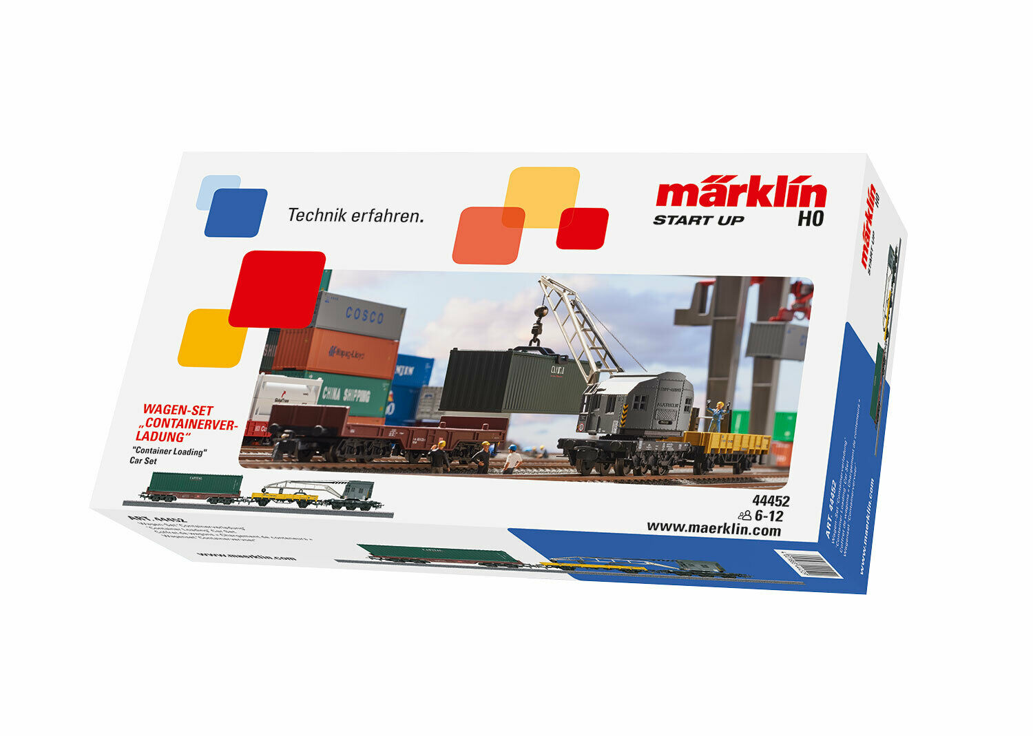 Märklin start up-auto-set  recipientes  h0 (1 87), 44452