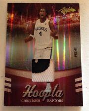 Chris Bosh 09-10 Panini Absolute Hoopla Patch Jersey Card 8/10 Ssp Wow Sikk