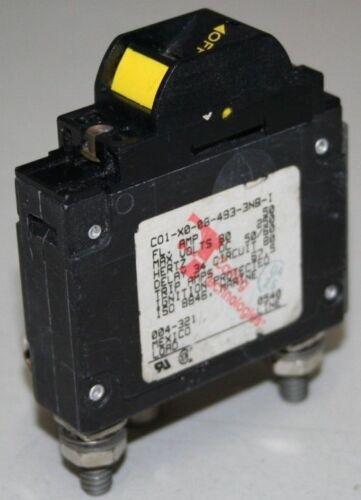 Carling 50 Amp Single Pole Circuit Breaker CO1-X0-08-493-3NB-I