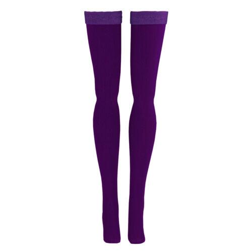 Dark Purple Doll Stockings for Volks 1//6 Scale Dollfie Huret Gildebrief