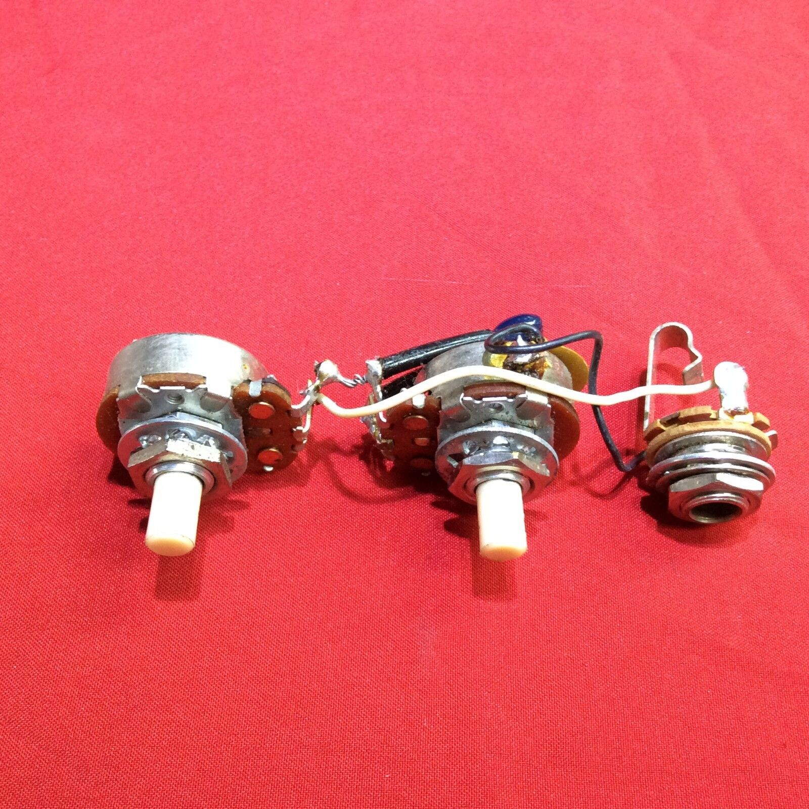 VINTAGE 1974 USA FENDER PRECISION BASS GUITAR WIRING HARNESS TELECASTER POTS
