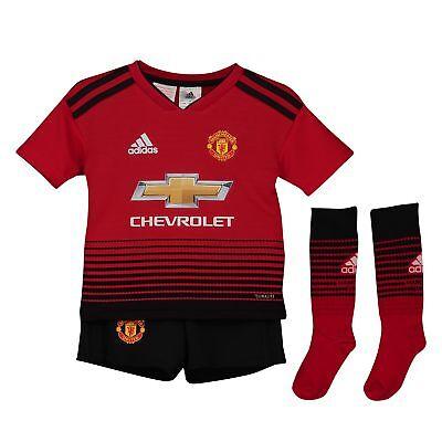 Ambizioso Manchester United Home Mini Kit 2018 19 Neonato & Bambino Da Calcio Adidas-mostra Il Titolo Originale