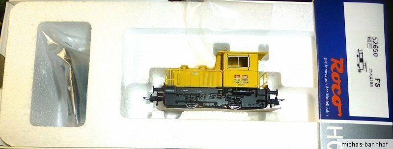 FS Série D.214 214.4184 Locomotive Diesel Epv Nem Kkk Roco 52650 H0 1 87 Neuf