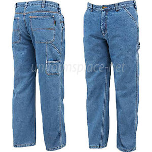 25198bf3000e Details about Wolverine Jeans Men Carpenter Pants Hammer Loop Fleece Lined  Denim Pant W1202260