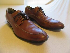 Mens Cole Haan Split Toe Oxford Dress Shoes Size 14 Brown Ebay