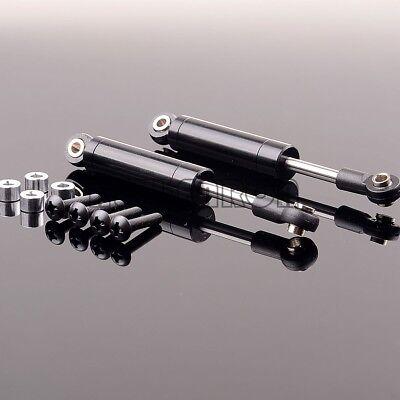 2P BLACK Aluminum 102MM Int Shock /& Screws Crawlers Trucks RC Axial CC01 SCX10