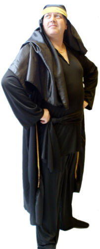 Panto-Show-Mens-1920s-ARABIAN VALENTINO-Fancy Dress Costume-All Sizes//Plus Sizes