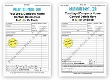 100 custom landscaping carbonless ncr forms receipts invoices