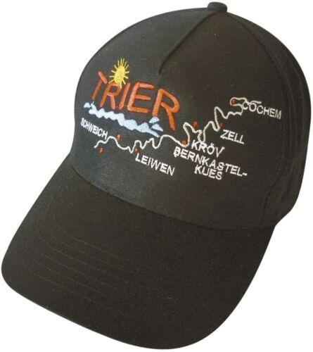 BASEBALLCAP CAP BERRETTO muetze NERO CON STICK Trier 68912