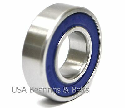 """1//2/"""" x 1-3//8/"""" x 7//16/"""" 5x 1621 2RS Rubber Sealed Deep Groove Ball Bearings"""