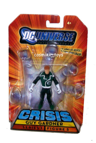 DC UNIVERSE INFINITE CRISIS HEROES SERIES GUY GARDNER ACTION FIGURE 2008 MATTEL
