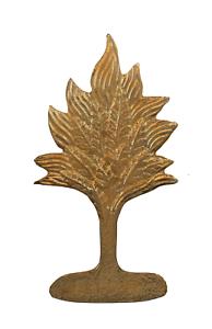 Burning Bush Gilded Symbol For Orange Order Collarette
