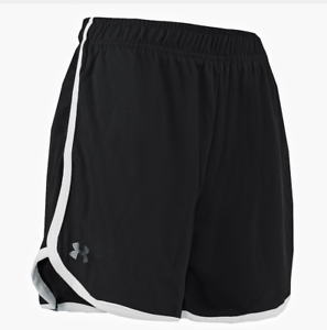 New With Tags Women's UA Under Armour Logo Running HeatGear Athletic Gym Shorts