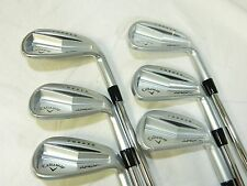 New Callaway Apex Pro Forged Iron Set 5-PW KBS tour V Stiff flex Steel Irons