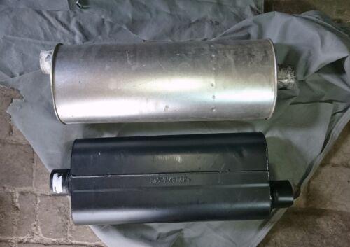 Exhaust Muffler-70 Series Big Block II Muffler Flowmaster 53072 TM