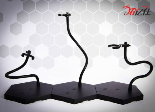 1//6 1//9 1//12 Figure Stand Snake Bone Bracket Adjustable Support Accessories