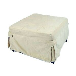 Ottoman-Folding-Bed-Beige-Brown-amp-Red