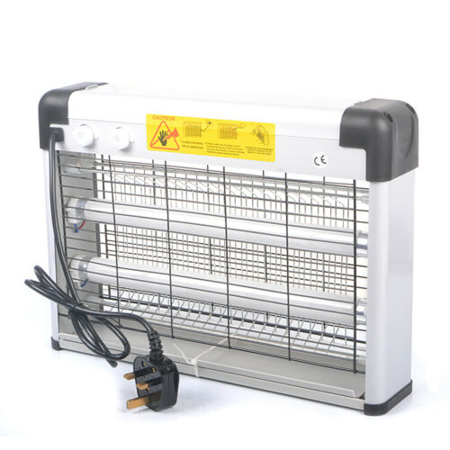 20W Electric UV Mosquito Fly Insect Killer Pest Bug Zapper Catcher Trap LED Lamp