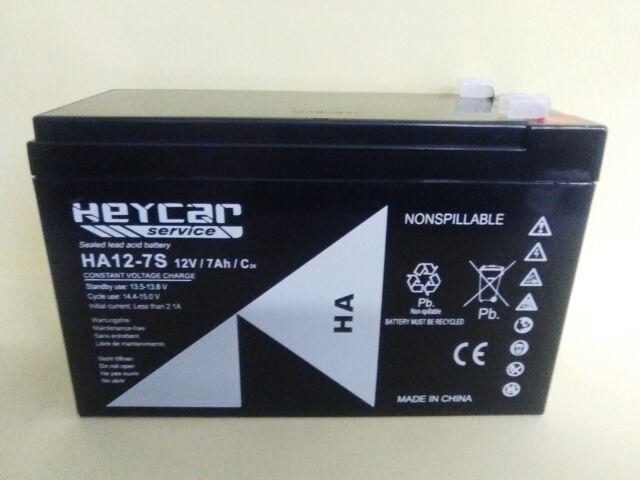 Batería de plomo 12V 7Ah - 12 voltios - 12 V 7 AGM