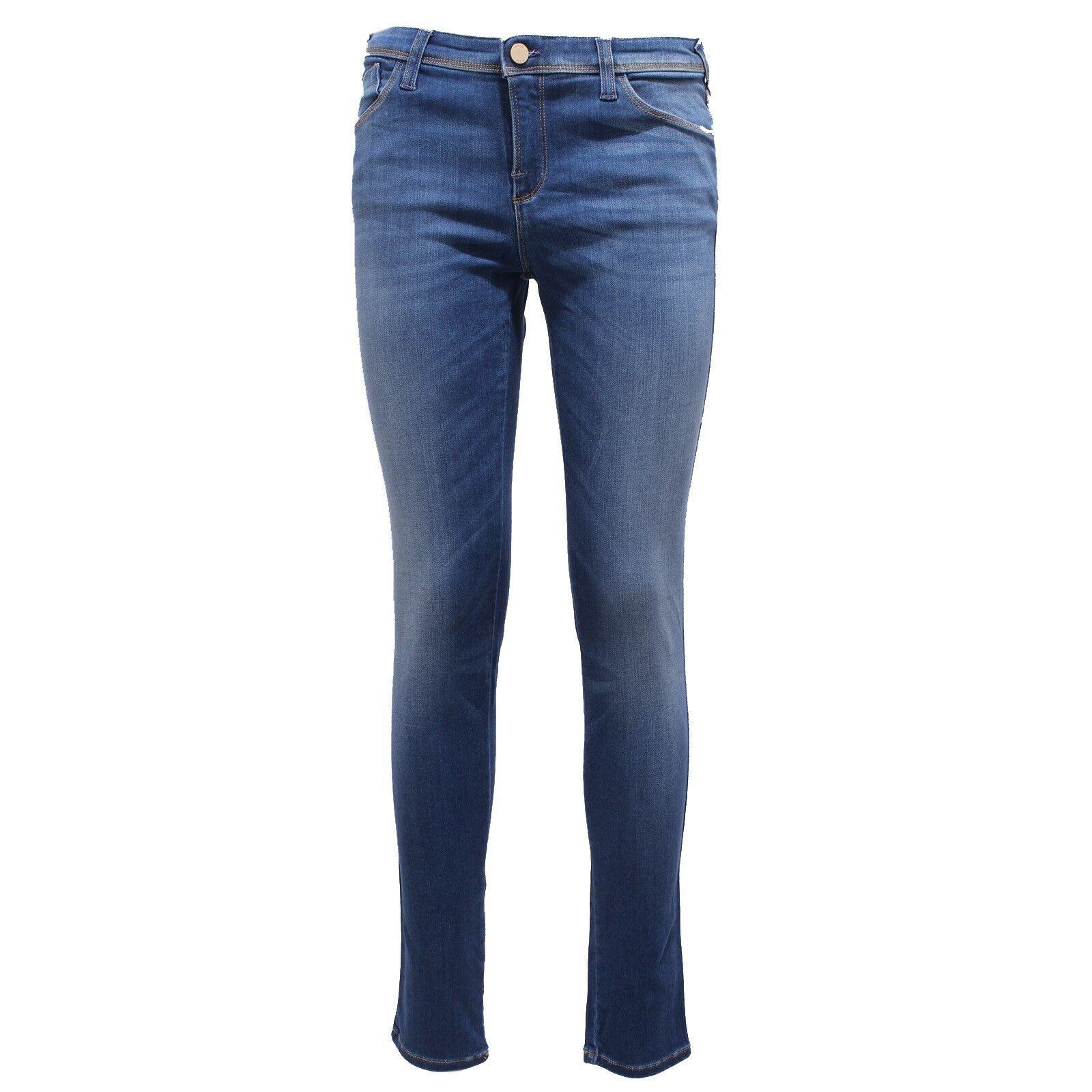 6569Y jeans donna blu denim ARMANI JEANS J28 trouser Donna