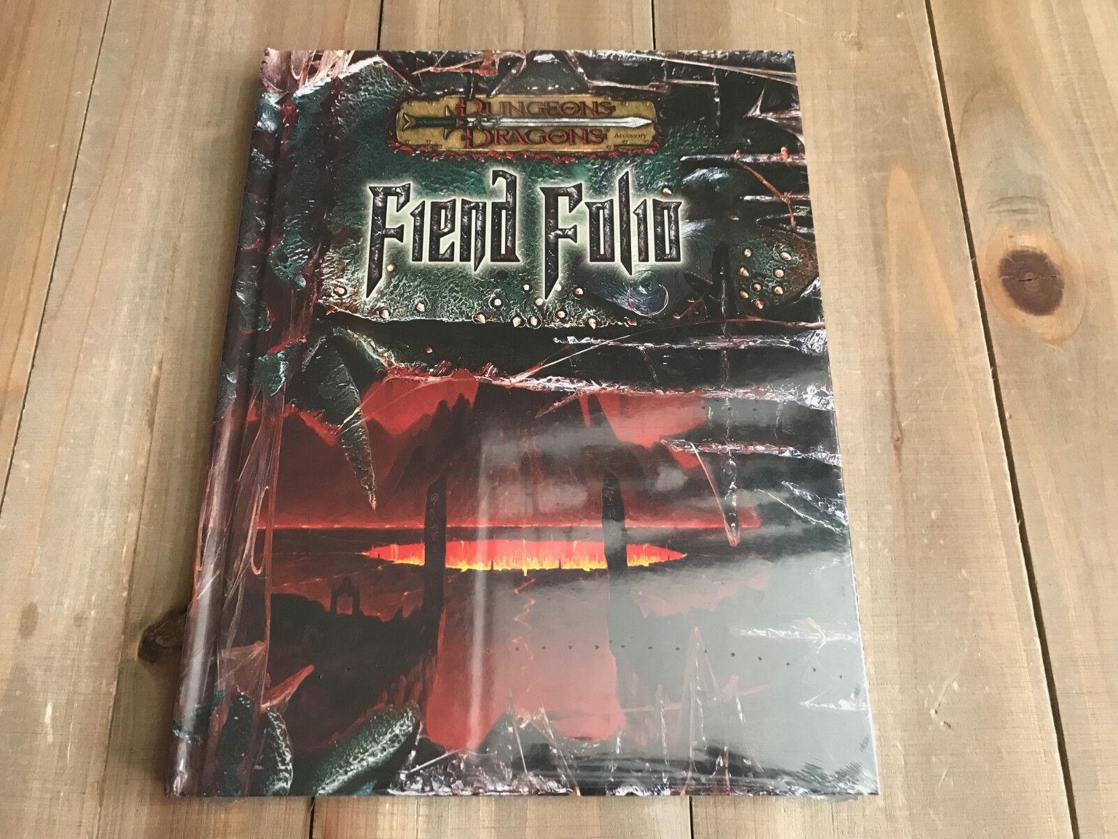 Donjons &  Dragons - D20 - Fiend Folio - Jeu Rôle - Wizards Of The Coast - RPG  édition limitée