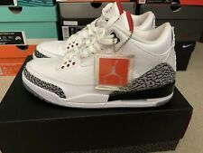c30f27fd425 item 2 NEW DS Nike Air Jordan Retro 3 size 11 white fire red cement grey  black III 2011 -NEW DS Nike Air Jordan Retro 3 size 11 white fire red cement  grey ...