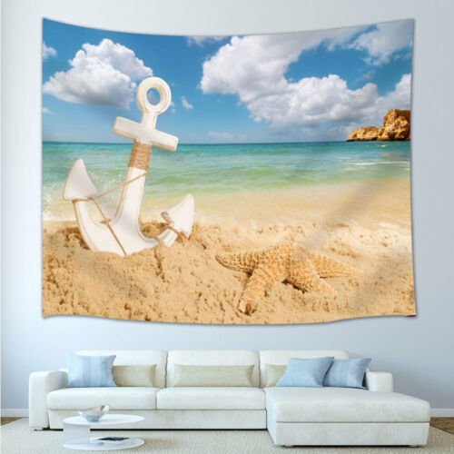 Beach anchor Tapestry Wall Hanging for Living Room Bedroom Dorm Decor