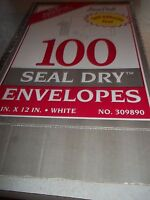9 X 12 Stuart Hall White Seal Dry Envelopesnib
