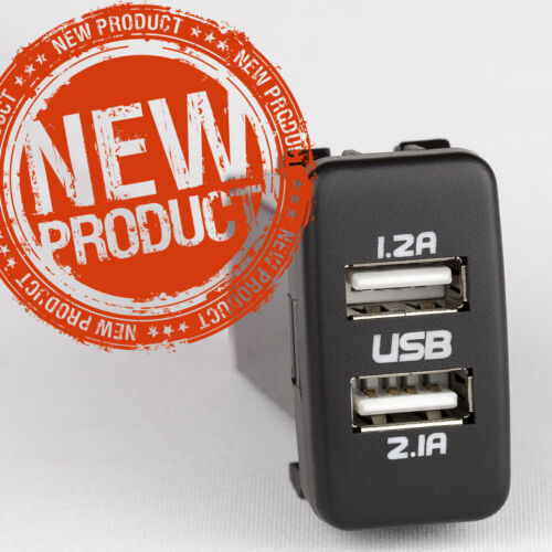 TOYOTA LANDCRUISER DUAL USB CHARGER 79 SERIES 2010-ON FUSED PLUG /& PLAY HARNESS