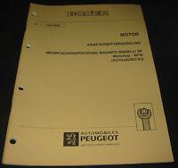 Werkstatthandbuch Peugeot Boxer Typ 230 Mehrfacheinspritzung Magneti Marelli 8P!