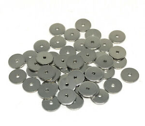 stainless steel thin spacer beads 8mm x 1mm
