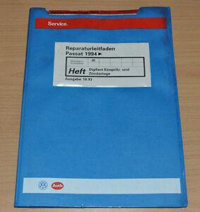 VW Passat B4 Digifant Einspritz und Zündanlage 2E Werkstatthandbuch Leitfaden