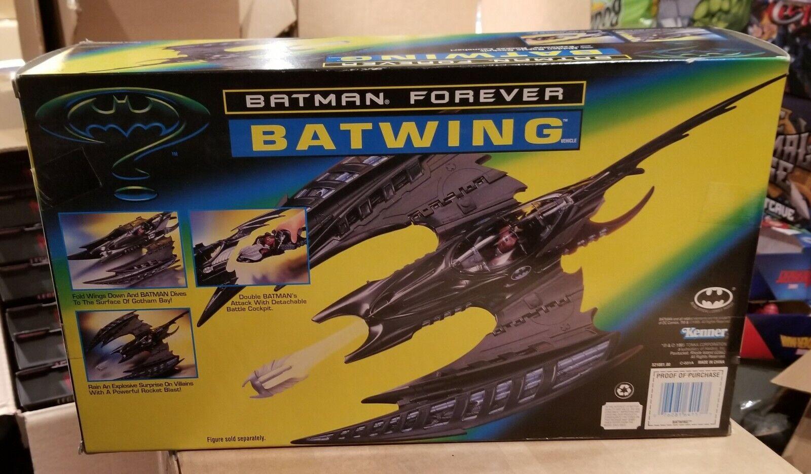 BATMAN FOREVER VINTAGE KENNER BATWING NEW SEALED UNOPENED MISB