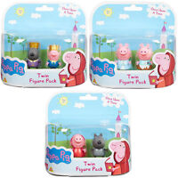 Peppa Pig Once Upon a time twin figure pack x 3 Peppa, Danny, George