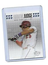 2013 LEAF RIZE 1ST AARON JUDGE ROOKIE RC NEW YORK YANKEES  CARD ON FIRE !!!!!!