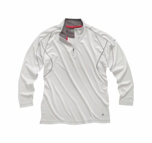 Gill Men/'s UV Tec 1//4 Zip Long Sleeve Performance Shirt C1630