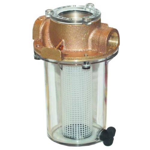 Groco Intake Strainer with Filter Basket 3//4 in