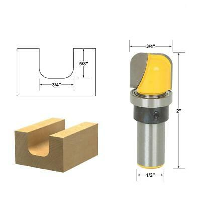 """1//2/"""" Shank Ball Round Nose Moulding Trim Router Bit Wood Milling Cutter Tool"""