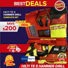 Hilti Te 5 Drill With Drs Free Bits Amp Tablet Made In Germanycomplete Fast Ship