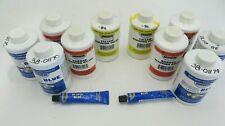 2 Dykem Steel Blue Layout Fluid 8 Oz Bottle Orange Yellow Staining Color
