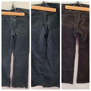 Talbots-Women-s-Corduroy-Pants-Signature-Bootcut-Grey-Brown-Lot-Of-3-6P-Petite
