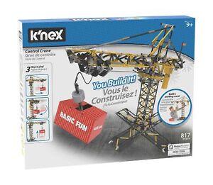 38 Piece K/'Nex Free Shipping! Crane Micro Building Set