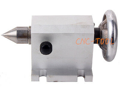 CNC Tailstock for 4th Axis A-axis Rotary Axis CNC Engraver Lathe Accessory