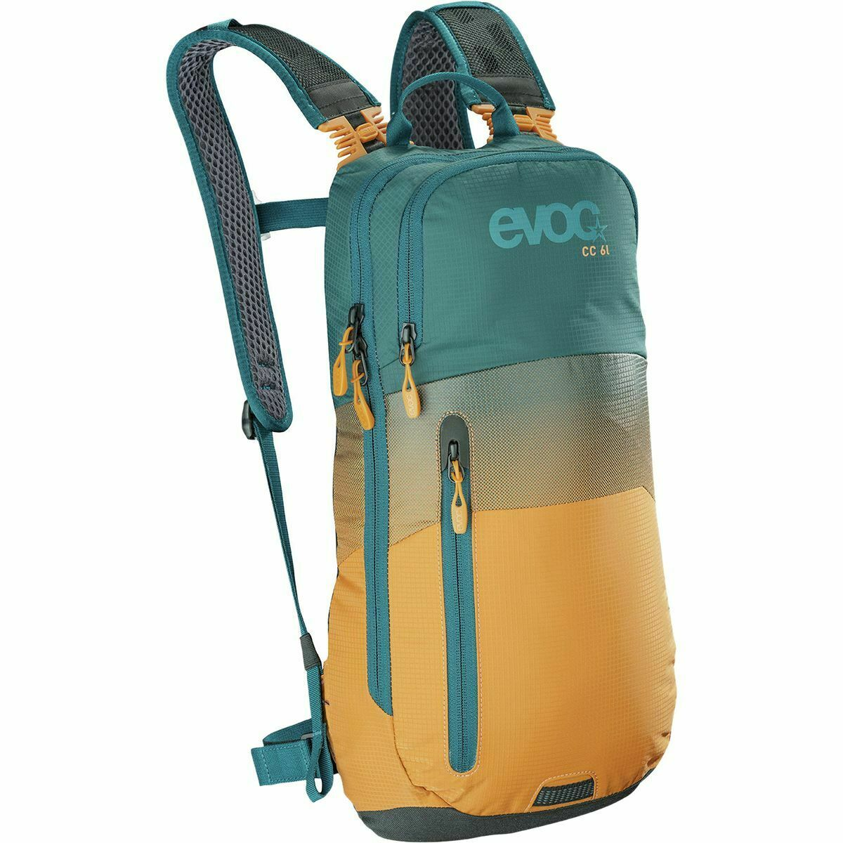 EVOC CC 6 + 2L Bladder Hydration Bag 6L Petrol Loam