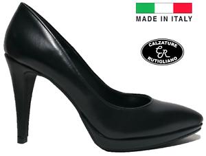 Donna Italy In Made Tacco Eleganti Alto Decollete Decolte  Scarpe TdqgHT ae373382789