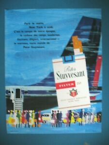 PUBLICITE-DE-PRESSE-PETER-STUYVESANT-CIGARETTES-INTERNATIONAL-PASSEPORT-AD-1964